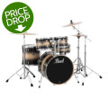 Pearl Export EXL 5-piece Drum Set with Hardware - Nightshade Lacquer