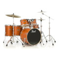 Pearl Export EXL 6-piece Rock Drum Set with Hardware - Honey Amber