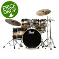 Pearl Export EXL 7-piece Drum Set with Hardware - Nightshade Lacquer