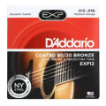 D'Addario EXP12 Coated 80/20 Bronze Medium Acoustic StringsEXP12 Coated 80/20 Bronze Medium Acoustic Strings