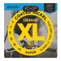 D'Addario EXP125 Coated Nickel Plated Steel Light Top/Regular Bottom Electric Strings