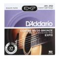 D'Addario EXP13 Coated 80/20 Bronze Custom Light Acoustic StringsEXP13 Coated 80/20 Bronze Custom Light Acoustic Strings