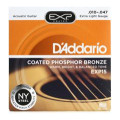 D'Addario EXP15 Coated Phosphor Bronze Extra Light Acoustic Strings