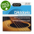 D'Addario EXP16 Coated Phosphor Bronze Acoustic Strings Light with NS Micro Sound Hole Tuner BundleEXP16 Coated Phosphor Bronze Acoustic Strings Light with NS Micro Sound Hole Tuner Bundle