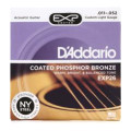 D'Addario EXP26 Coated Phosphor Bronze Custom Light Acoustic Strings