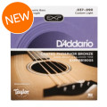 D'Addario EXPPBB190GS Coated Phosphor Bronze Acoustic for GS Mini Bass