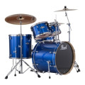 Pearl Export EXX 5-piece Drum Set with Hardware - Fusion Configuration- Electric Blue Sparkle