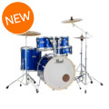 Pearl Export EXX 5-piece Drum Set with Hardware - Fusion Configuration-High Voltage Blue