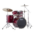 Pearl Export EXX 5-piece Drum Set with Hardware Fusion Configuration- Red Wine