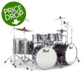 Pearl Export EXX 8-piece Double Bass Drum Set with Hardware - Smokey Chrome