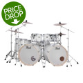 Pearl Export EXX 8-piece Double Bass Drum Set with Hardware - Pure White