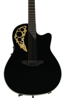 Ovation Elite TX Mid Depth - Gloss Black