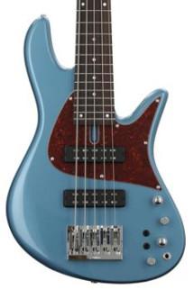 Fodera Emperor Standard Classic - Pelham Blue, Matching Headcap
