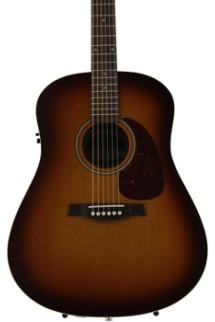 Seagull Guitars Entourage Rustic QI Cedar - Rustic Burst