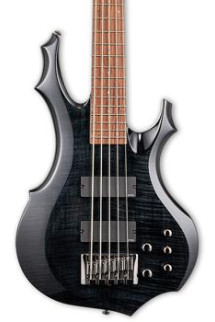 ESP LTD F-415FM - See Thru Black
