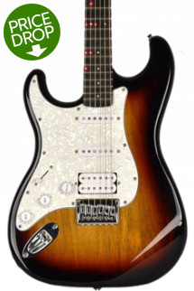 Fretlight FG-621 Wireless Electric Guitar Learning System Left-handed - Sunburst