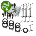 Audix FP7 Drum Package with Stands and CablesFP7 Drum Package with Stands and Cables