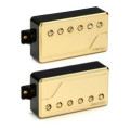 Fishman Fluence Classic Humbucker Pickup Set with Gold CoverFluence Classic Humbucker Pickup Set with Gold Cover