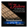 Fodera 28100 Nickel Roundwound 5-string Bass Strings - 0.028-0.100 Light High C28100 Nickel Roundwound 5-string Bass Strings - 0.028-0.100 Light High C
