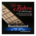 Fodera 40100 Nickel Roundwound Bass Strings - 0.040-0.100 Light