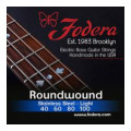 Fodera 40100 Stainless Steel Roundwound Bass Strings - 0.040-0.100 Light