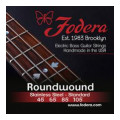 Fodera 45105 Stainless Steel Roundwound Bass Strings - 0.045-0.105 Medium45105 Stainless Steel Roundwound Bass Strings - 0.045-0.105 Medium
