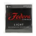 Fodera 40120 Nickel Roundwound 5-string Bass Strings - 0.040-0.120 Light