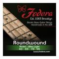 Fodera 4095 Nickel Roundwound Bass Strings - 0.040-0.095 Ultra Light