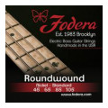 Fodera 45105 Nickel Roundwound Bass Strings - 0.045-0.105 Medium45105 Nickel Roundwound Bass Strings - 0.045-0.105 Medium