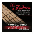 Fodera 45125 Nickel Roundwound 5-string Bass Strings - 0.045-0.125 Medium