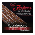 Fodera 45125 Stainless Steel Roundwound 5-string Bass Strings - 0.045-0.125 Medium45125 Stainless Steel Roundwound 5-string Bass Strings - 0.045-0.125 Medium