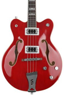 Gretsch G5442BDC - Transparent Red