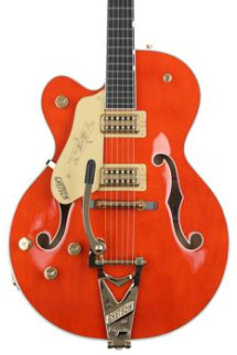 Gretsch G6120TLH Players Edition Nashville Left-handed - Orange Stain