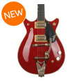 Gretsch G6131T-62 Vintage Select Edition '62 Duo Jet - Firebird Red