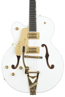 Gretsch G6136T White Falcon Player's Edition Left-handed with Bigsby