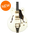 Gretsch G6609TFM Players Edition Broadkaster Center Block - Vintage White, Bigsby TailpieceG6609TFM Players Edition Broadkaster Center Block - Vintage White, Bigsby Tailpiece