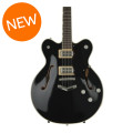 Gretsch G6609TFM Players Edition Broadkaster Center Block - Black, V-StoptailG6609TFM Players Edition Broadkaster Center Block - Black, V-Stoptail