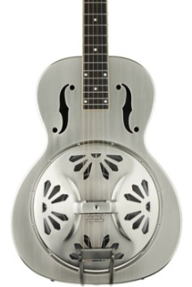 Gretsch G9221 Bobtail Round-neck Steel Body Spider Cone Nashville Resonator - 2 Color Sunburst