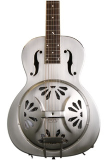 Gretsch G92301 Bobtail Square-neck, Steel Body Spider Cone Resonator