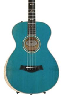 Taylor Grand Concert 12-fret Custom AA Quilt Maple - Koi Blue