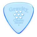 Gravity Picks Classic - Standard Size, 2mm, w/Multi-hole Grip
