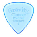 Gravity Picks Classic Pointed - Standard Size, 2mm, PolishedClassic Pointed - Standard Size, 2mm, Polished