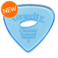 Gravity Picks Classic Pointed - Standard, 2mm, w/Elipse-hole GripClassic Pointed - Standard, 2mm, w/Elipse-hole Grip