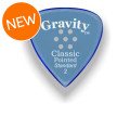 Gravity Picks Classic Pointed - Standard, 2mm, w/Multi-hole GripClassic Pointed - Standard, 2mm, w/Multi-hole Grip