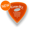 Gravity Picks Classic Pointed - Standard, 3mm, w/Elipse-hole GripClassic Pointed - Standard, 3mm, w/Elipse-hole Grip