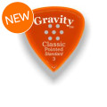 Gravity Picks Classic Pointed - Standard, 3mm, w/Multi-hole Grip