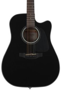 Takamine GD30-CE Dreadnought Cutaway - Black