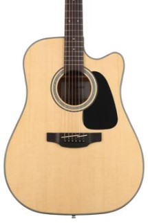 Takamine GD30-CE Dreadnought Cutaway - Natural
