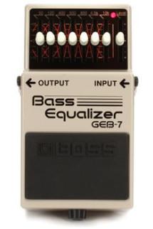 Boss GEB-7 7-band Bass EQ Pedal