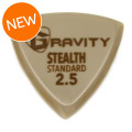 Gravity Picks Gold Stealth - Standard Size, 2.5mm
